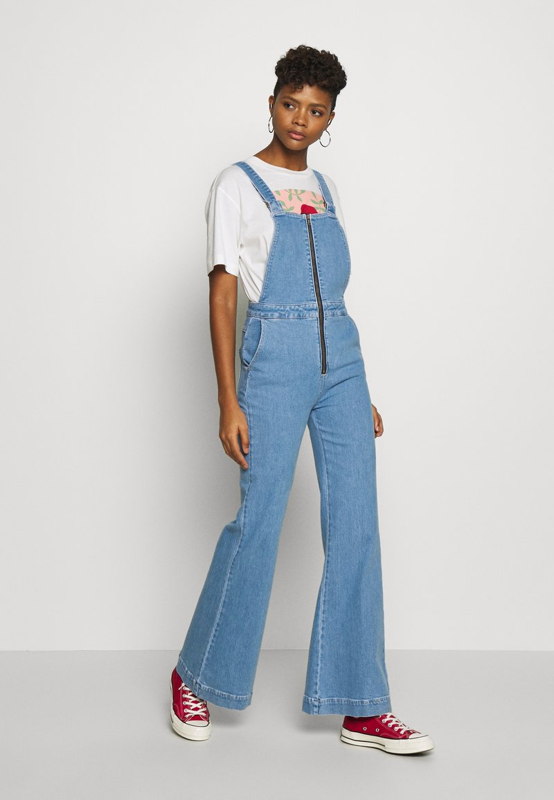 Rolla's - EASTCOAST OVERALL - Dungarees - lilah blue organic