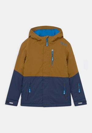 HALLINGDAL JACKET UNISEX - Ski jacket - bronze/navy