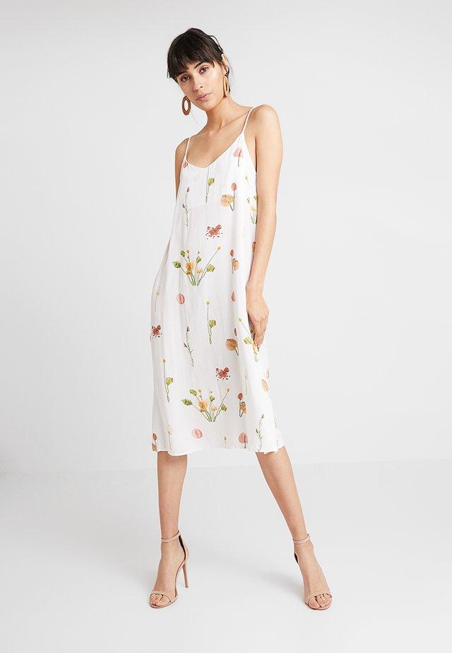 MIA DRESS - Day dress -  blanc