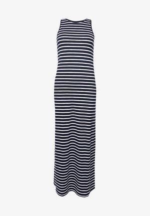 Maxi dress - eclipse navy stripe