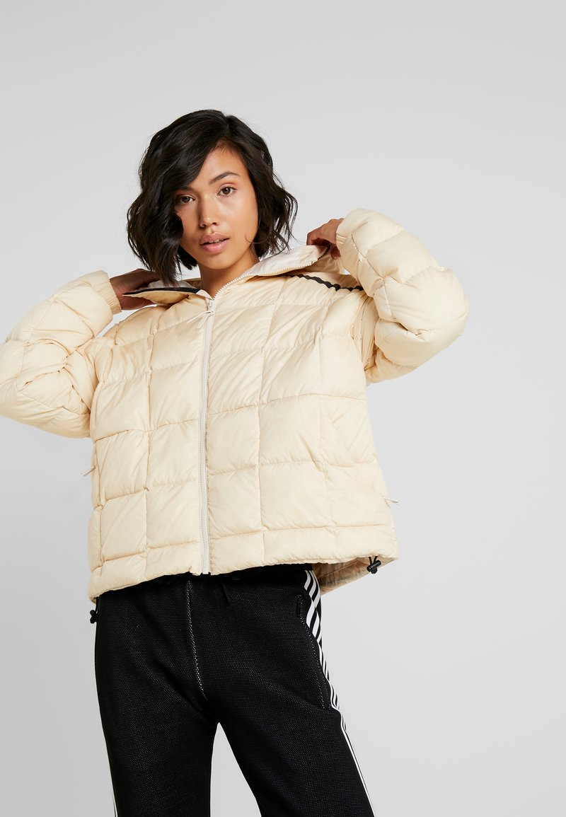 adidas Performance - Z.N.E. DOWN JACKET - Winter jacket - sand