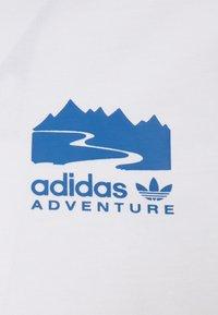 adidas Originals - FLMOUNT TEE - Print T-shirt - cloud white - 2