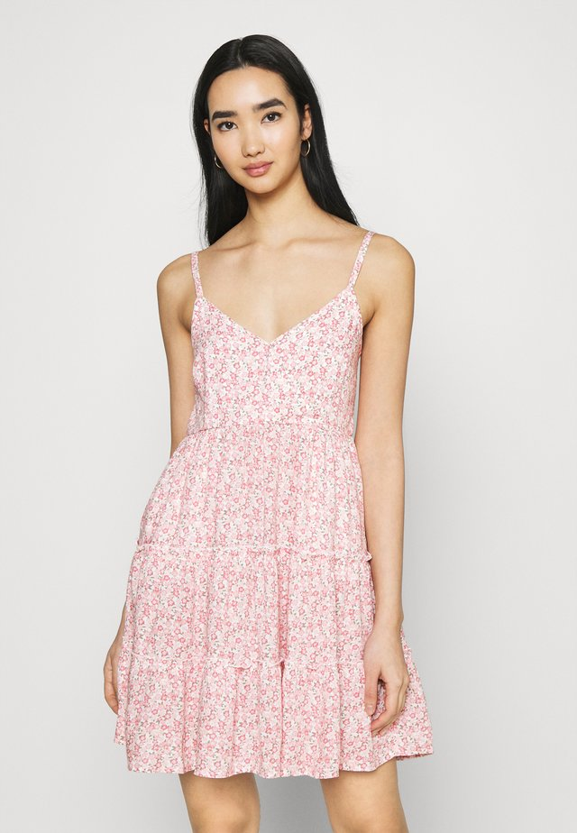 BARE FEMME SHORT DRESS - Korte jurk - pink