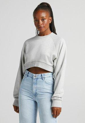 MIT ÄRMELN  - Sweatshirt - grey