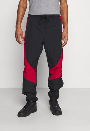 Pantalones deportivos - black/gym red
