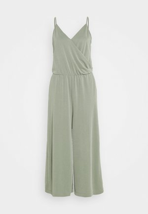 LINA - Jumpsuit - khaki green medium dusty