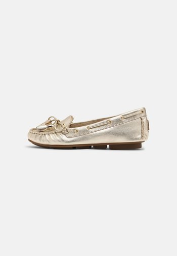 LEATHER - Moccasins -  gold