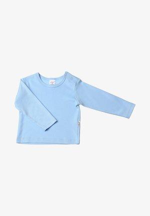 Long sleeved top - hellblau