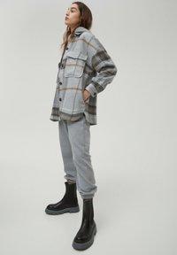 PULL&BEAR - Košile - mottled grey - 3