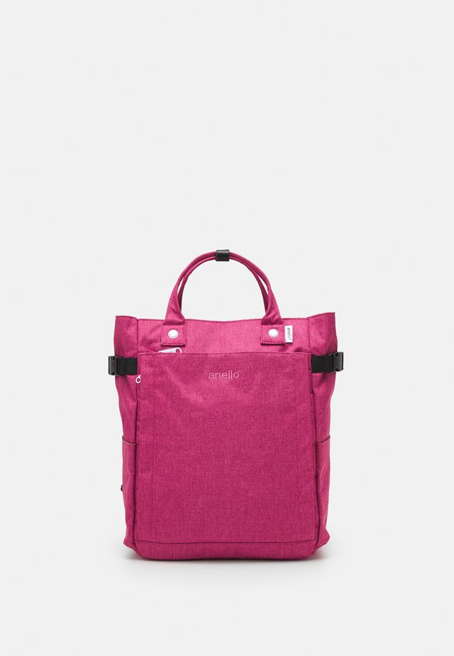 2 WAY BACKPACK UNISEX - Reppu - pink