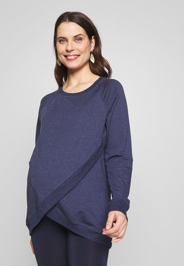 SYBIL - Sweater - bluemarl