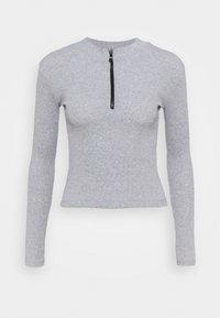 Trendyol - Long sleeved top - gray - 0