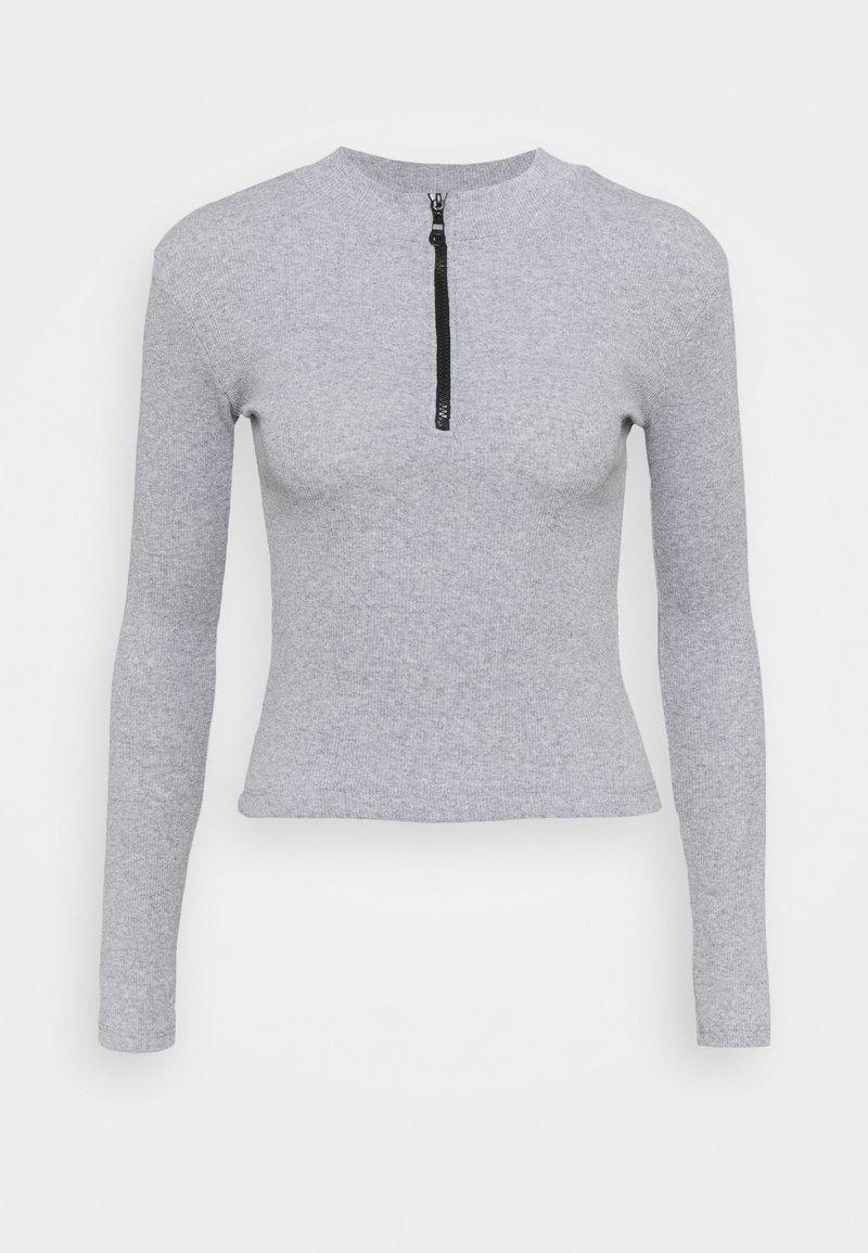 Trendyol - Long sleeved top - gray