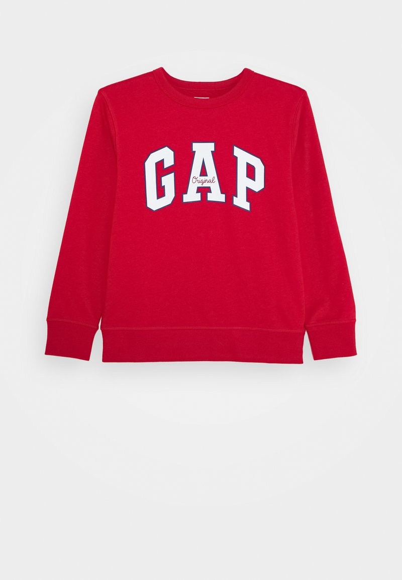 GAP - BOY LOGO CREW - Bluza - modern red