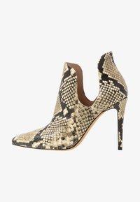 ALDO - AMILMATHIEN - High heeled ankle boots - natural - 1