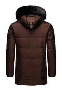 Navahoo - LUAAN - Winter coat - brown melange - 2