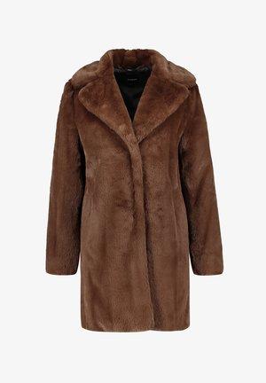 Winter coat - truffle brown