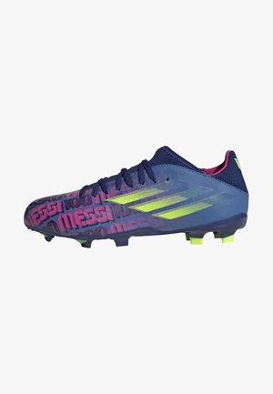 Moulded stud football boots - blue