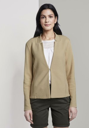 Blazer - cream toffee