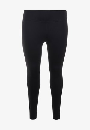 ONE LUXE PLUS - Tights - black/clear