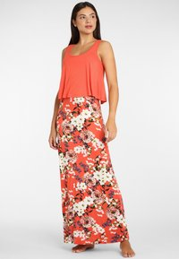 s.Oliver - Maxi dress - koralle-bedruckt - 1