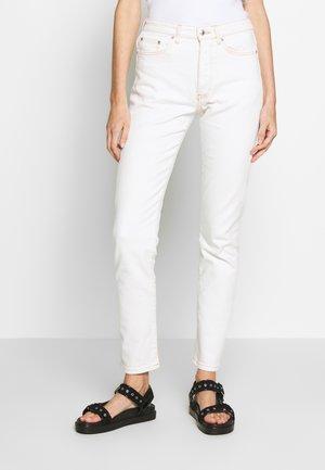 SABRINA - Slim fit jeans - ecru