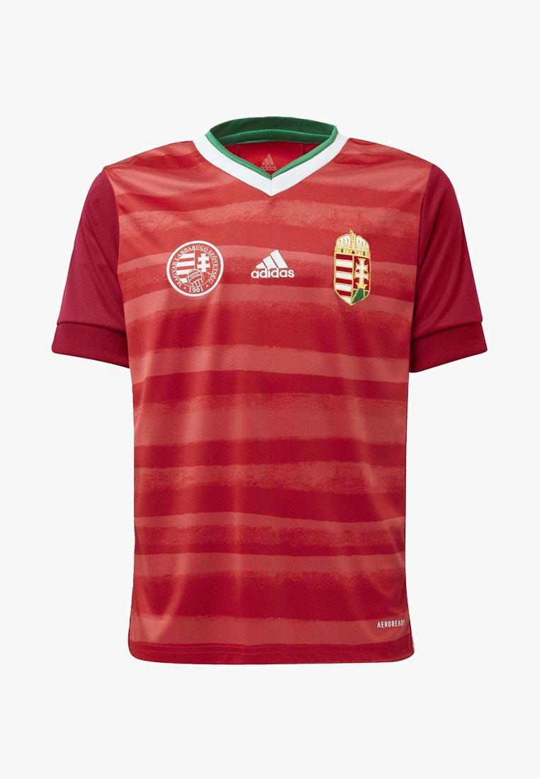 adidas Performance - HUNGARY HFF HOME AEROREADY JERSEY - Club wear - red