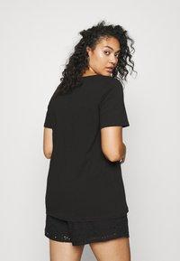 Zizzi - EFANNEY TEE - Basic T-shirt - black - 2