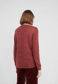 Bruuns Bazaar - BELLA KASS  - Jumper - brown bordeaux - 2