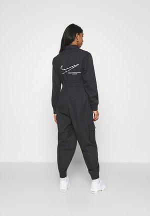 UTILITY - Tuta jumpsuit - black/white
