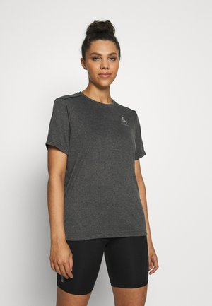 CREW NECK MILLENNIUM ELEMENT - Basic T-shirt - black