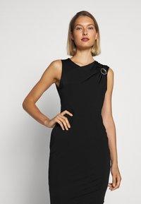 Just Cavalli - Pouzdrové šaty - black - 5