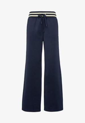 LUCAY WIDE  - Pantalones - sartho blue