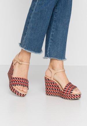 BORBA - Sandály na vysokém podpatku - multicolor