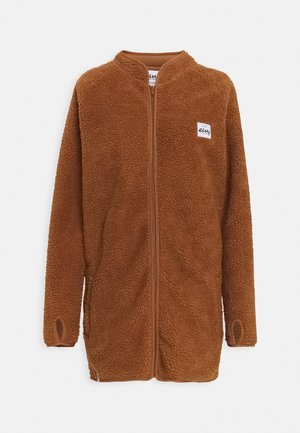 REDWOOD SHERPA COAT - Fleece jacket - brown