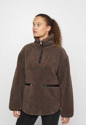 Fleecová mikina - mole