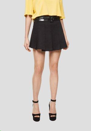 DUA LIPA X PEPE JEANS  - Pleated skirt - black