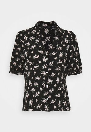 VMSAGA - Button-down blouse - black