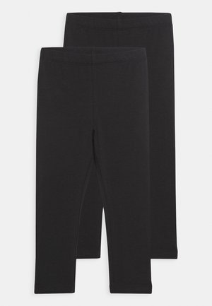 NKFVIVIAN 2 PACK - Leggings - Trousers - black