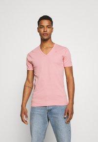G-Star - BASE 2 PACK - T-shirt - bas - dusty rose - 1