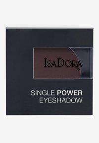 IsaDora - SINGLE POWER EYESHADOW - Eye shadow - black plum - 2