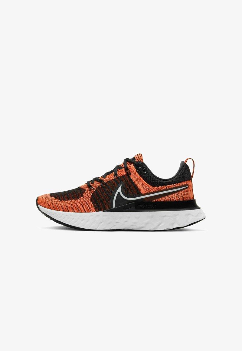 Nike Performance - REACT INFINITY RUN FK 2 - Neutral running shoes - bright mango black white