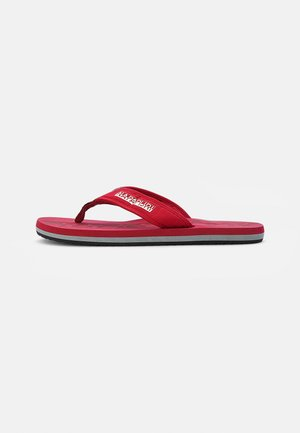 T-bar sandals - cherry red