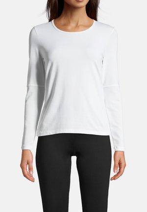 ICONIC - Pitkähihainen paita - white