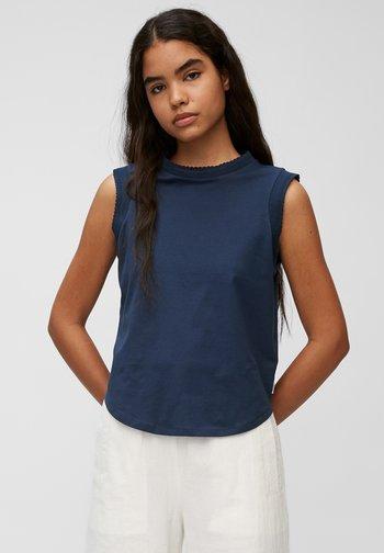 Top - dress blue