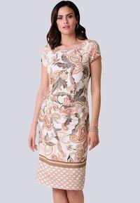 Alba Moda - Jersey dress - rosé,braun - 0