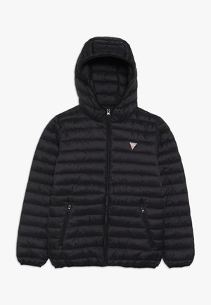 JUNIOR UNISEX PADDED PUFFER - Zimní bunda - jet black