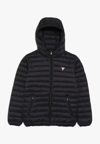 JUNIOR UNISEX PADDED PUFFER - Winter jacket - jet black