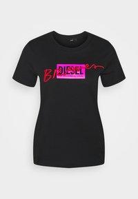 Diesel - Print T-shirt - black - 4