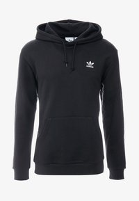 adidas Originals - ESSENTIAL HOODY UNISEX - Hoodie - black - 3